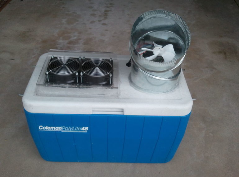 Dog House Swamp Cooler
