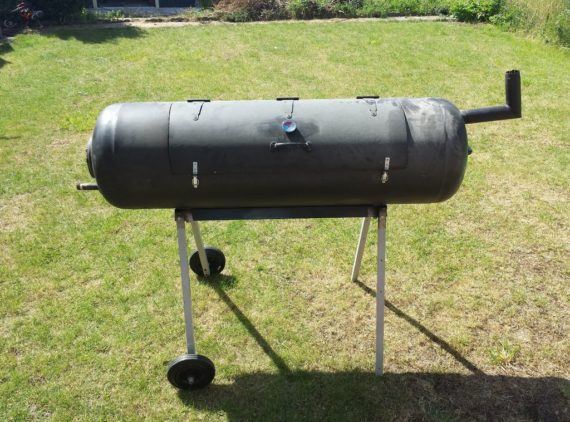 diy bbq water heater