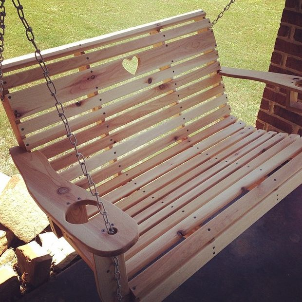 Create Your Own Diy Porch Swing For Under 100