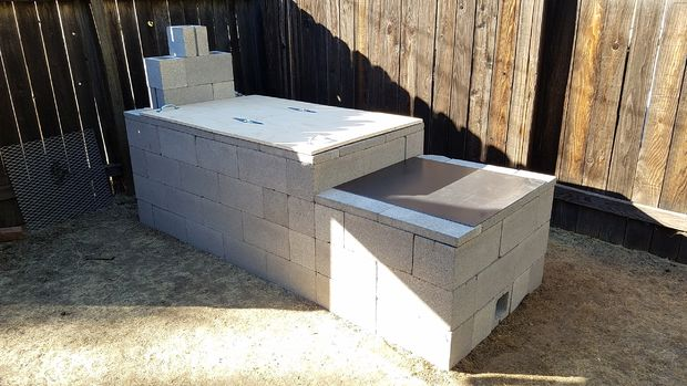 Build The Ultimate Blockwork Offset Smoker Toolmates Hire