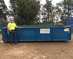 11M Walk In Bin (100% Green Waste) Melbourne Hire