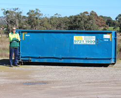 15M Walk In Bin (100% Green Waste) Melbourne Hire
