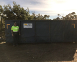 23M Walk In Bin (100% Green Waste) Melbourne Hire