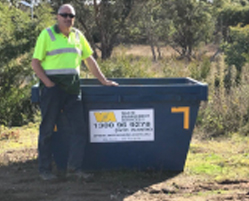 2M Skip Bin Concrete Rubble Melbourne Hire