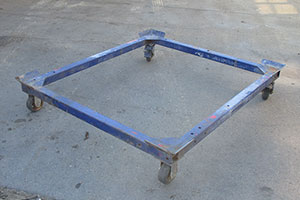 3 Cubic Meter Skip Trolley Hire - Brisbane