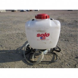 SOLO 425 15 L BACKPACK CHEMICAL SPRAYER WITH EXTRA LONG CARBON SPRAY WAND