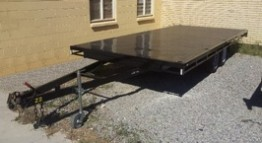 18ft X 8ft Flatbed Trailer Hire in Adelaide