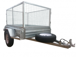 7ft X 5ft Caged Trailer Hire in Adelaide