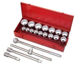 "1"" DRIVE SOCKET SET"