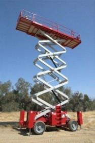 Scissor Lift - 54ft 4x4 Diesel