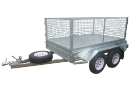 8ft X 6ft Caged Trailer Hire in Adelaide