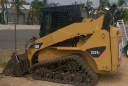 Cat Track Loader 257B Hire Lavington