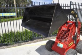 Mini loader standard bucket for hire Valley Heights