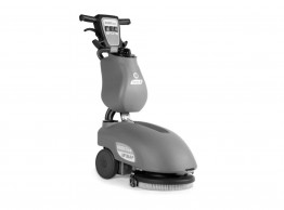 Compact Scrubber dryer - Fimap Genie B battery powered walk behind scrubber dryer