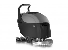 Compact Scrubber dryer - Fimap iMx50Bt battery powered walk behind scrubber dryer