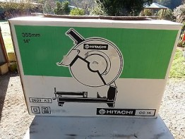 HITACHI CUT OFF SAW DROP CHOP METAL