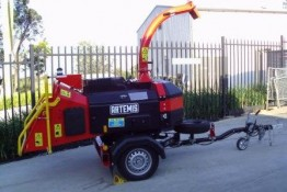 Chipper 160mm- turbo diesel for hire valley heights