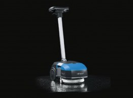 Micro scrubber dryer - Fimap Genie XS battery powered walk behind scrubber dryer