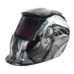CIGWELD & SNAP-ON SOLAR POWERED AUTO DARKENING WELDING HELMET