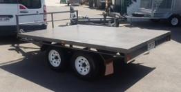 10ft X 7ft Flatbed Trailer Hire in Adelaide
