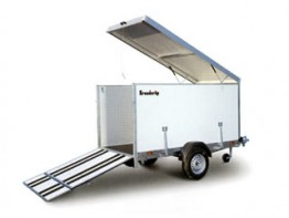 Box Trailer with Ramps