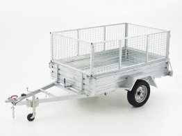 5X7 Cage Trailer with Ramp For Hire
