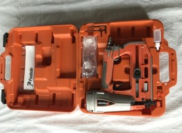PASLODE STRAIGHT FINISH NAIL GUN