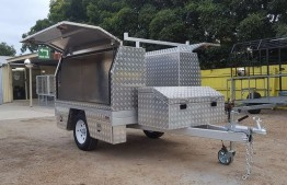6.5ft X 5ft Toolbox Trailer Hire in Adelaide