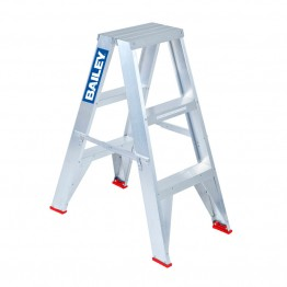 BAILEY 3' DOUBLE SIDED STEP LADDER