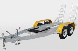 Hydraulic Tipping Trailer Hire Lavington