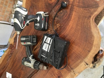 Panasonic impact driver and drill