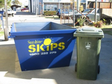 4 Cubic Meter Skip Hire: Brisbane, Sunshine Coast)