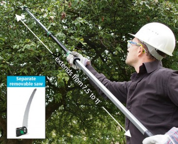 3.6METRE TELESCOPIC TREE PRUNER WITH SAW