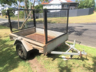 6 x 4 caged box trailer