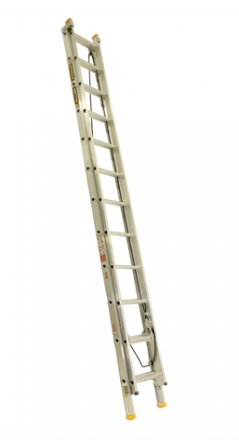 3.7 - 6.5m Aluminimum Extension Ladder