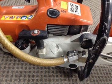 "STIHL TS460 14"" CONCRETE CUTTING WET SAW"