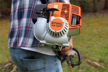 STIHL KM94R KOMBI POWERHEAD COMMERCIAL POLESAW, HEDGE TRIMMER, LAWN EDGER & BRUSHCUTTER/TRIMMER